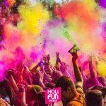 un immagine della festa Holi Fun