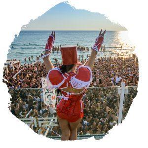 viaggi universitari FUN! viaggi giovani-beach party al samsara-
