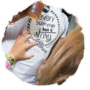 viaggi universitari FUN! viaggi evento e vacanze per giovani. il Paint Your T-shirt è un must