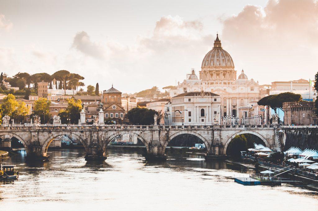 Panorama di Roma con San Pietro - Capodanno Low Cost a Roma