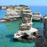 un tratto di costa del Salento durante le Vacanze a Gallipoli - Viaggi Giovani - Viaggi Evento FUN