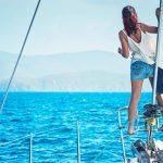 immagine di felicità nella vacanza in barca a vela FUN Flottiglia in croazia
