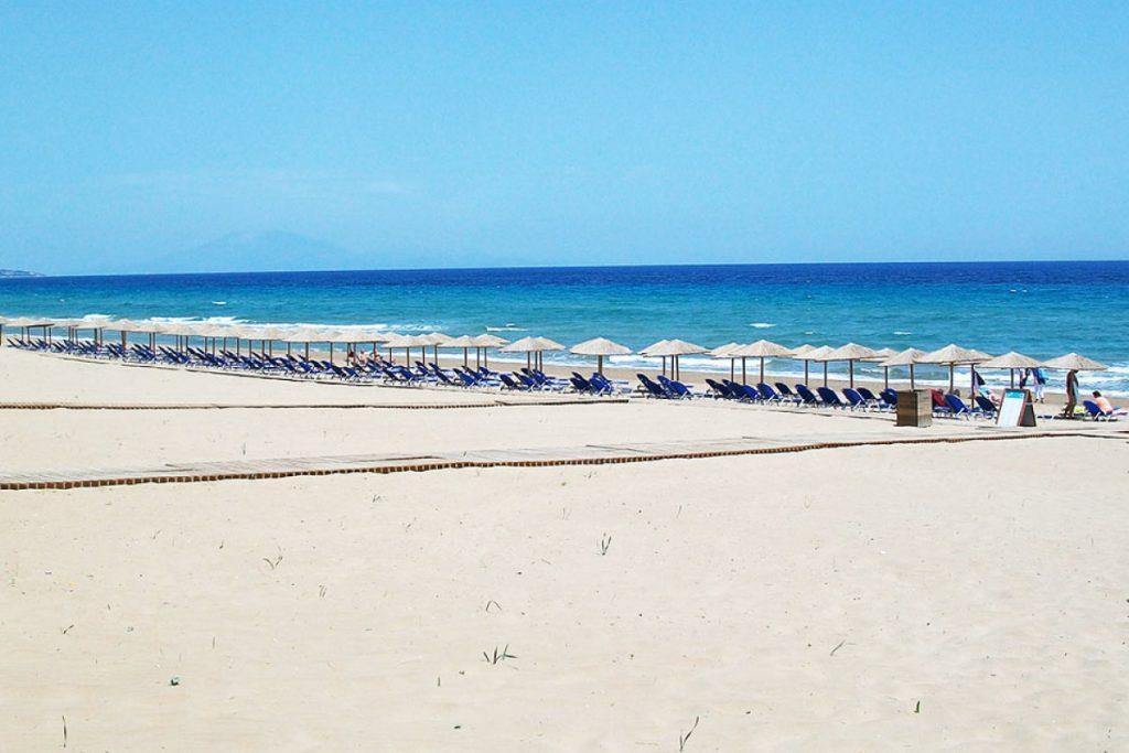Vacanze per Giovani a Zante - Vista di Banana Beach