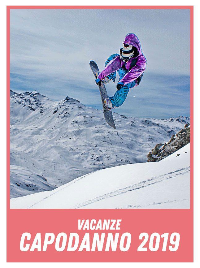 salto con snowbard - Capodanno in Montagna 2019