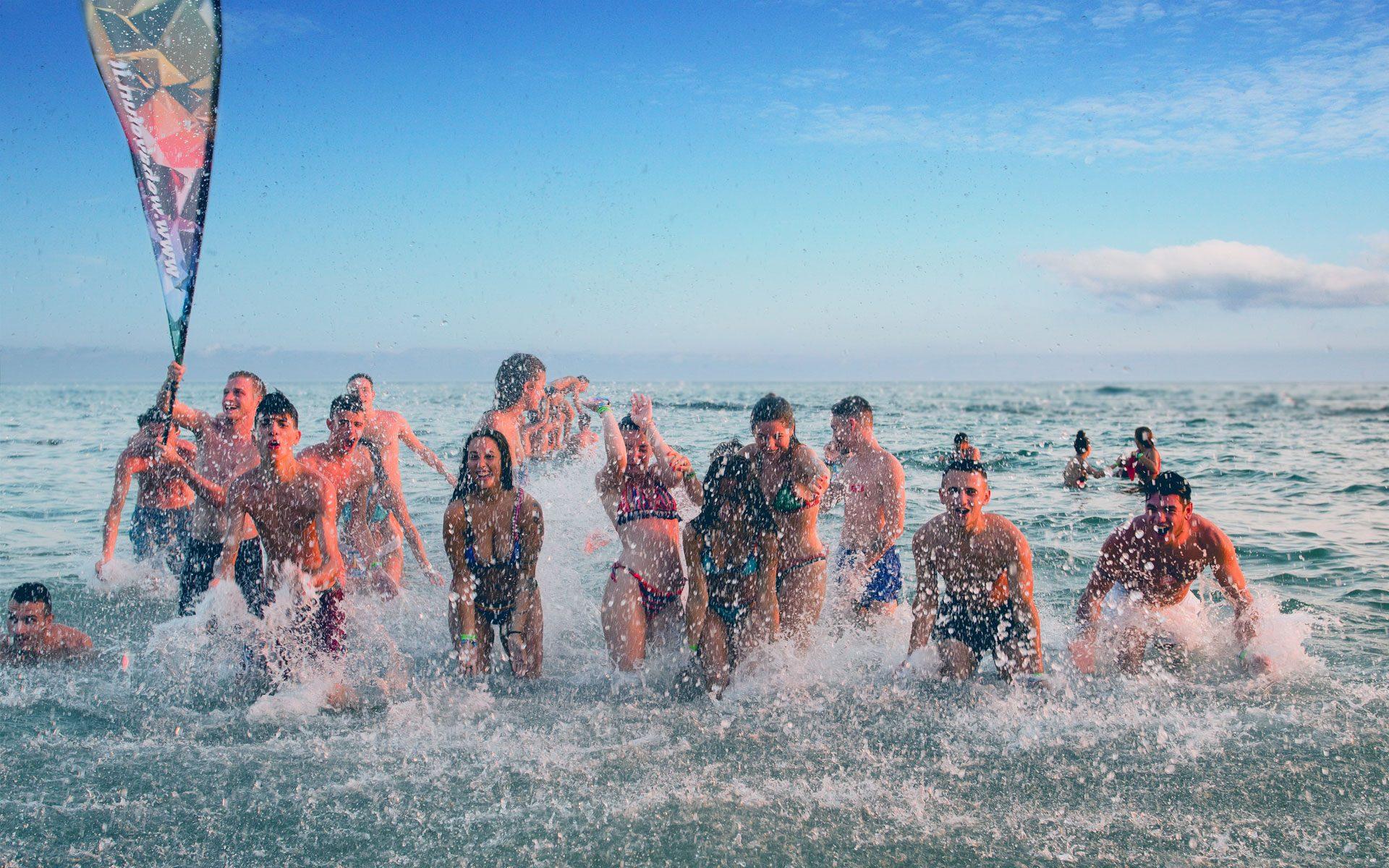 Bagno di Gruppo - Vacanze a Corfù