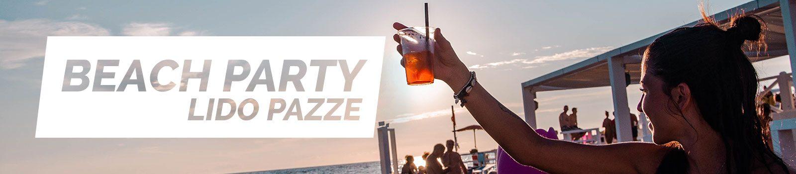 Beach Party a Lido Pazze - Vacanze in Salento