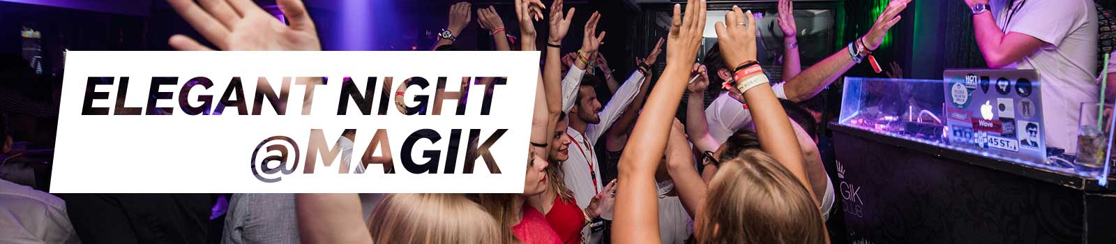 Elegant night at magik Club - Zante