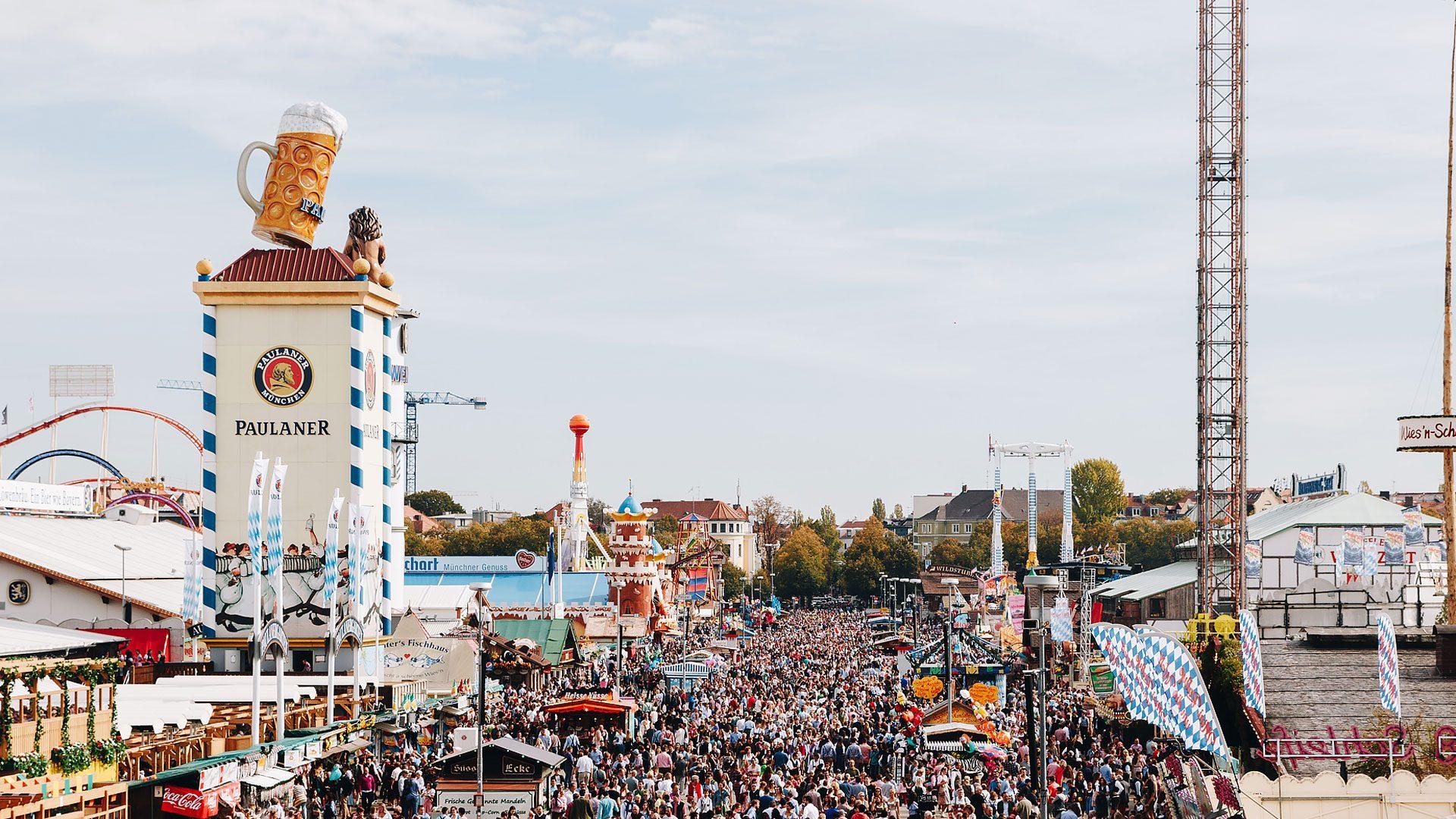 Oktoberfest Monaco di baviera - viaggio low cost