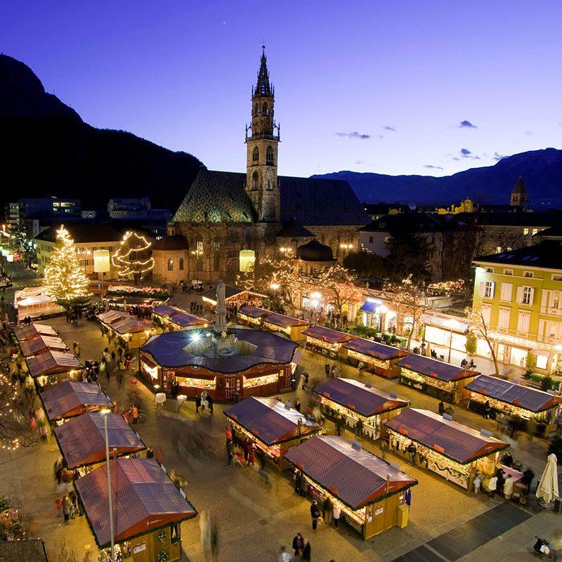 Lago di Carezza e Bolzano - Piazza Walther