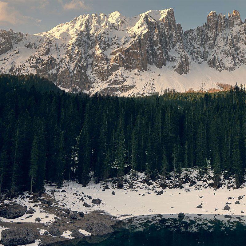 Lago di Carezza e Bolzano - Massiccio Laterma