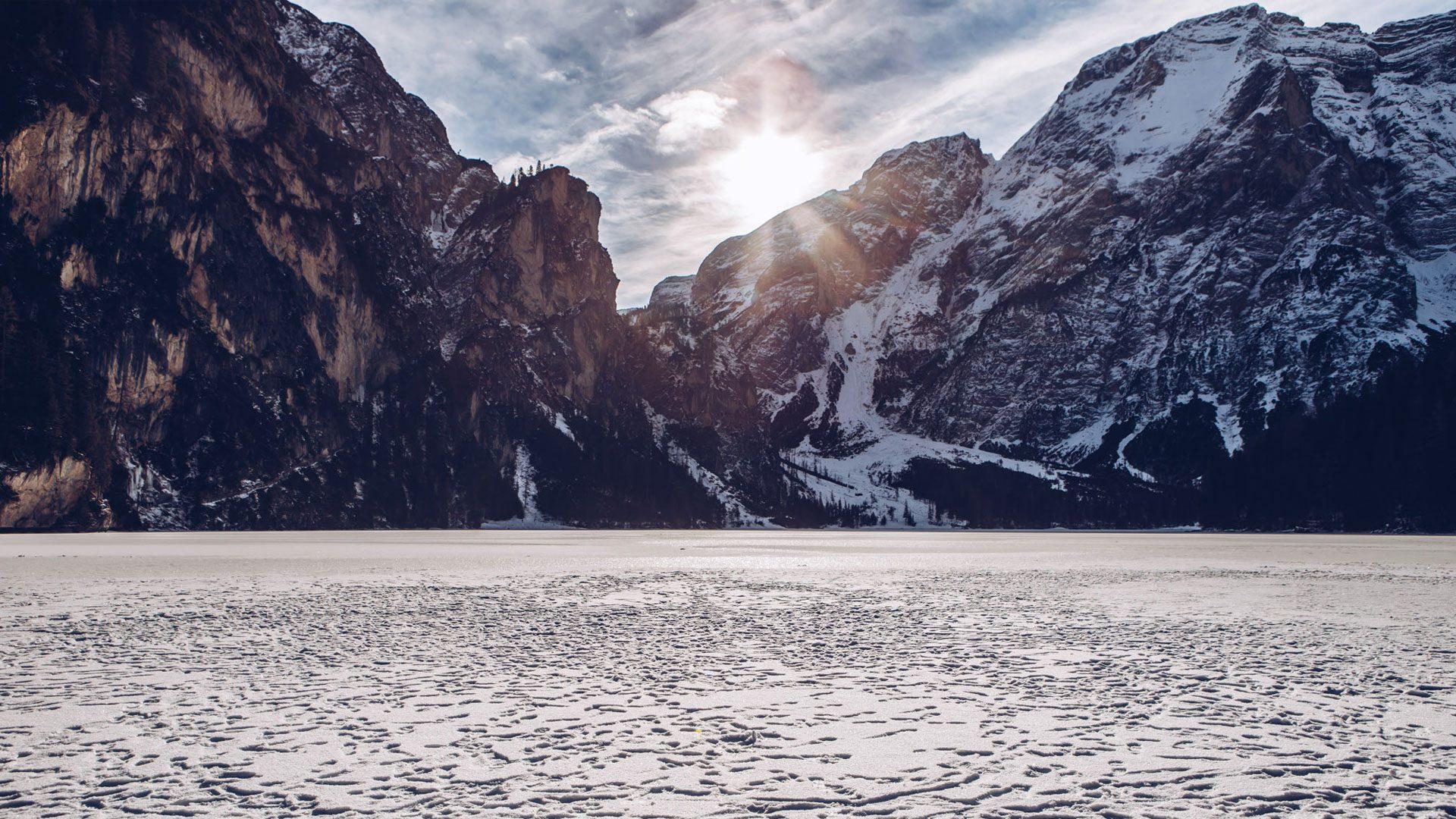 Lago di Braies - Panorama